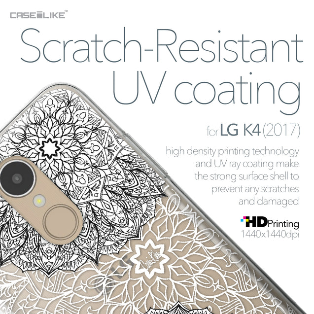 LG K4 2017 case Mandala Art 2093 with UV-Coating Scratch-Resistant Case | CASEiLIKE.com