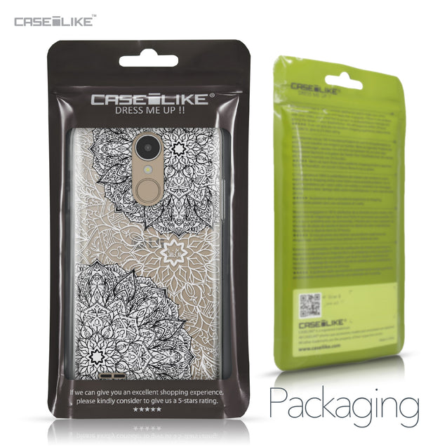 LG K4 2017 case Mandala Art 2093 Retail Packaging | CASEiLIKE.com