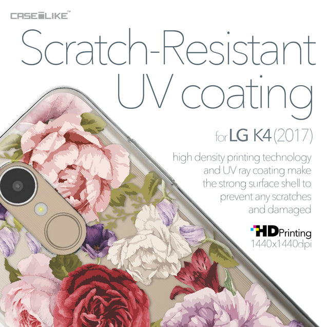 LG K4 2017 case Mixed Roses 2259 with UV-Coating Scratch-Resistant Case | CASEiLIKE.com