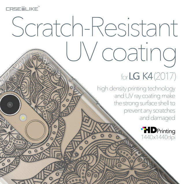 LG K4 2017 case Mandala Art 2304 with UV-Coating Scratch-Resistant Case | CASEiLIKE.com