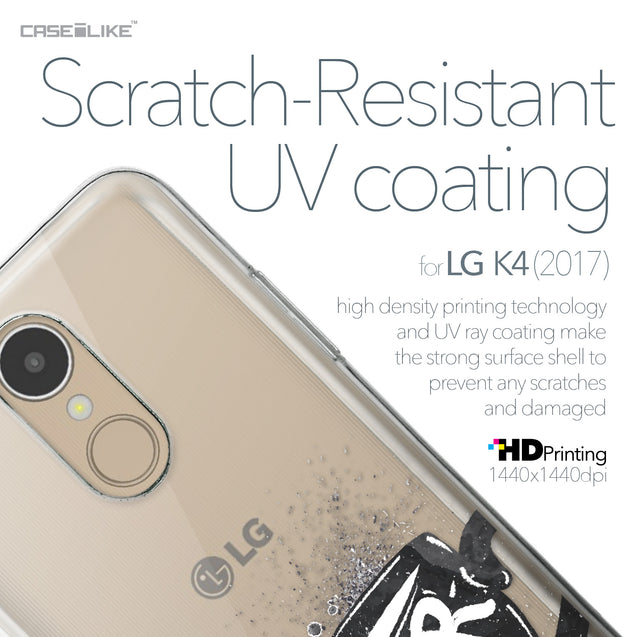 LG K4 2017 case Quote 2402 with UV-Coating Scratch-Resistant Case | CASEiLIKE.com