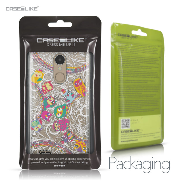 LG K4 2017 case Owl Graphic Design 3316 Retail Packaging | CASEiLIKE.com