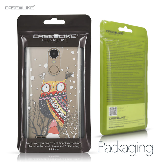 LG K4 2017 case Owl Graphic Design 3317 Retail Packaging | CASEiLIKE.com