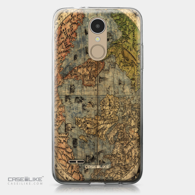 LG K4 2017 case World Map Vintage 4608 | CASEiLIKE.com