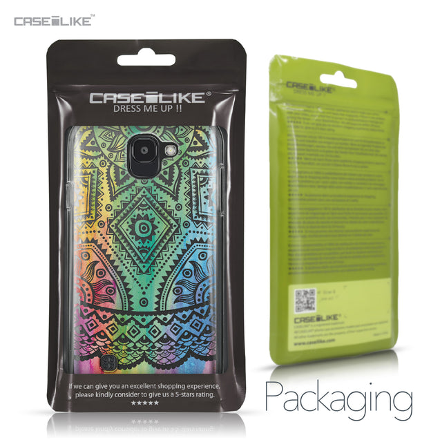LG K3 2017 case Indian Line Art 2064 Retail Packaging | CASEiLIKE.com