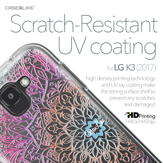 LG K3 2017 case Mandala Art 2090 with UV-Coating Scratch-Resistant Case | CASEiLIKE.com