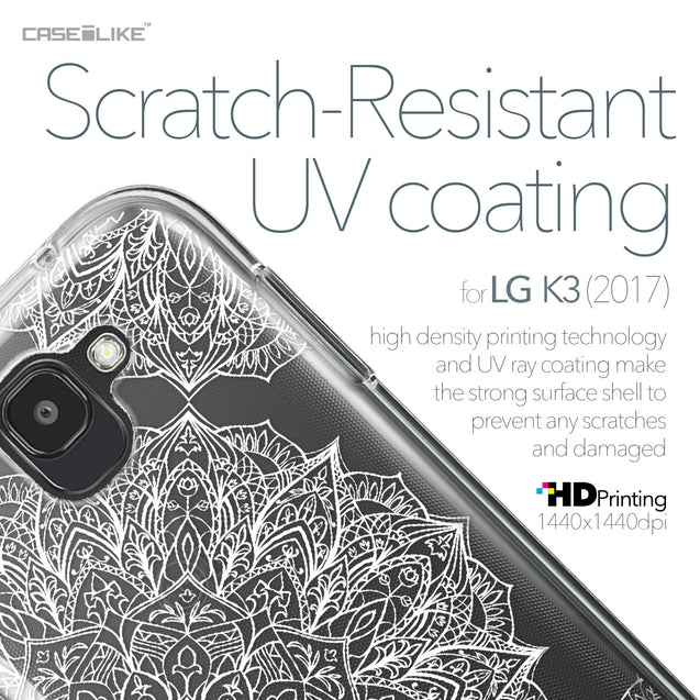 LG K3 2017 case Mandala Art 2091 with UV-Coating Scratch-Resistant Case | CASEiLIKE.com