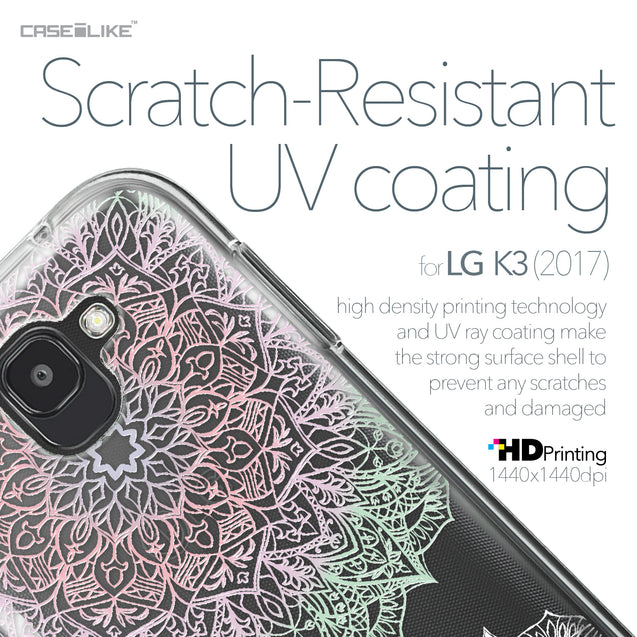 LG K3 2017 case Mandala Art 2092 with UV-Coating Scratch-Resistant Case | CASEiLIKE.com