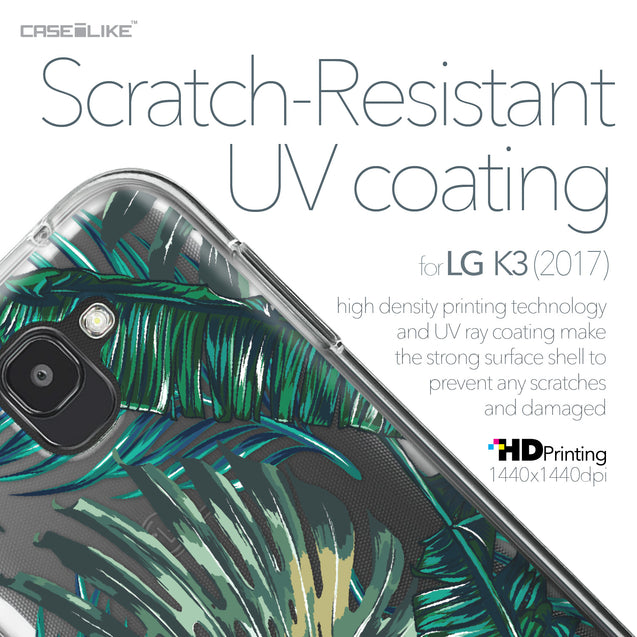 LG K3 2017 case Tropical Palm Tree 2238 with UV-Coating Scratch-Resistant Case | CASEiLIKE.com
