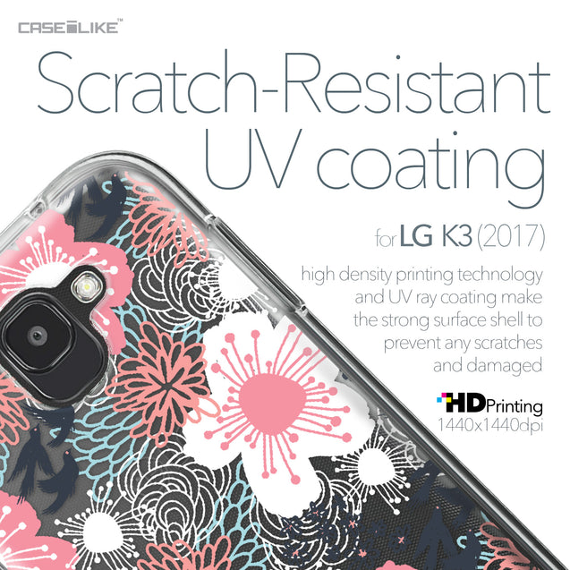 LG K3 2017 case Japanese Floral 2255 with UV-Coating Scratch-Resistant Case | CASEiLIKE.com