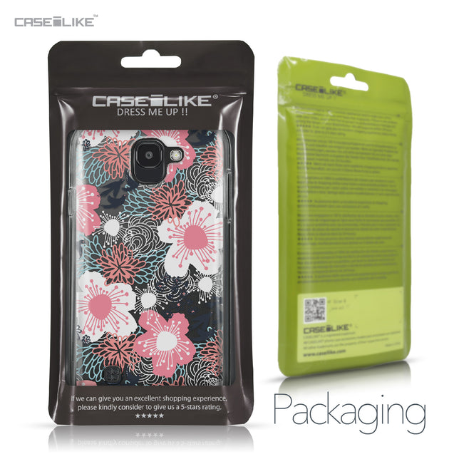 LG K3 2017 case Japanese Floral 2255 Retail Packaging | CASEiLIKE.com