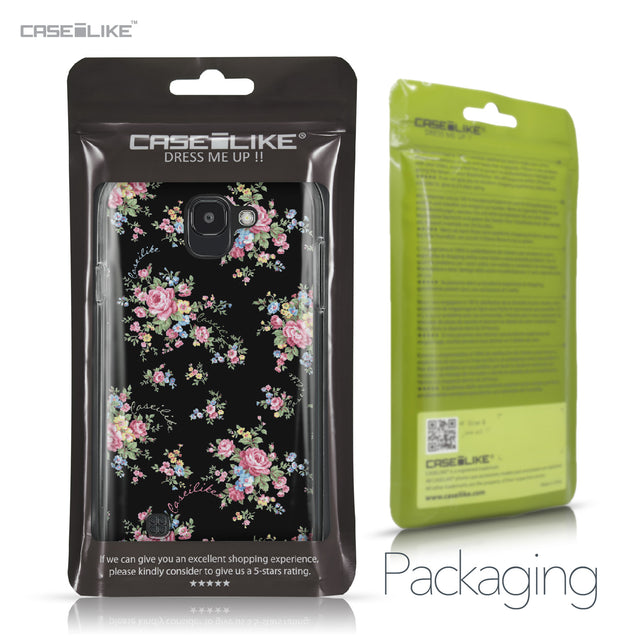 LG K3 2017 case Floral Rose Classic 2261 Retail Packaging | CASEiLIKE.com