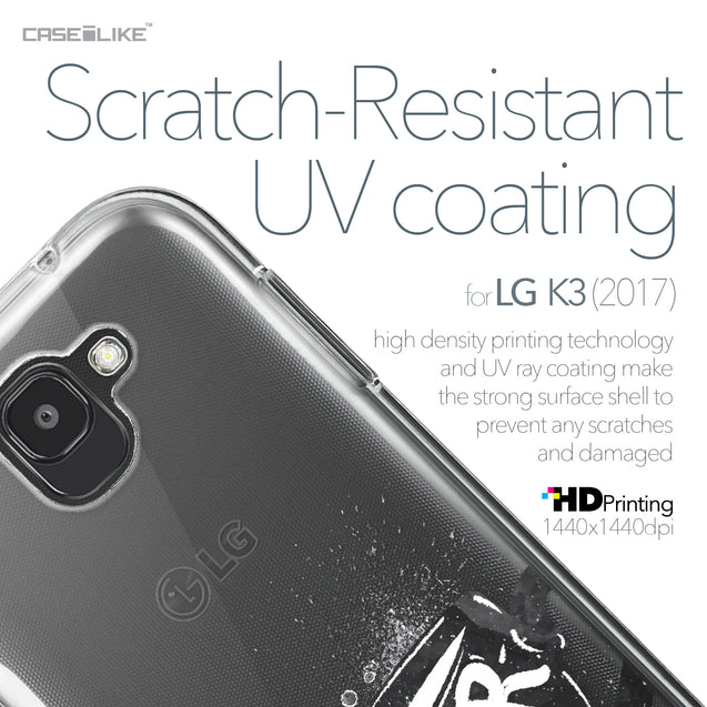 LG K3 2017 case Quote 2402 with UV-Coating Scratch-Resistant Case | CASEiLIKE.com
