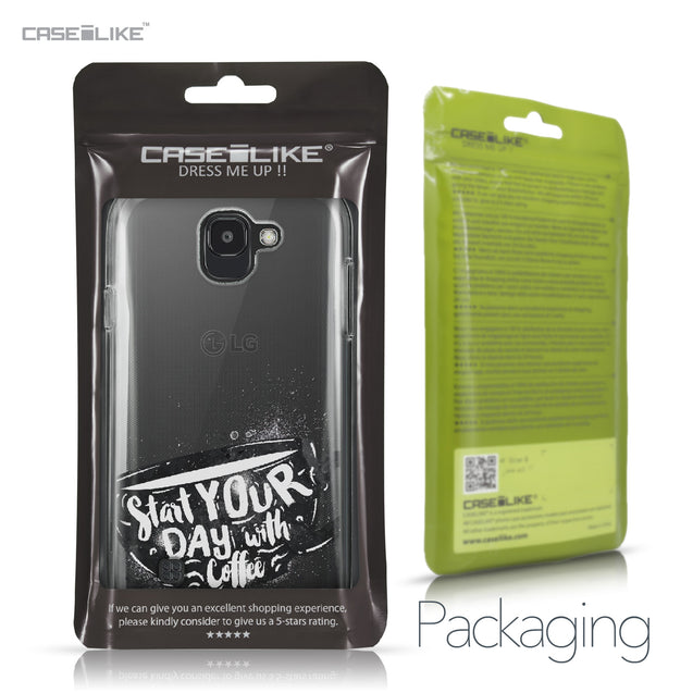 LG K3 2017 case Quote 2402 Retail Packaging | CASEiLIKE.com