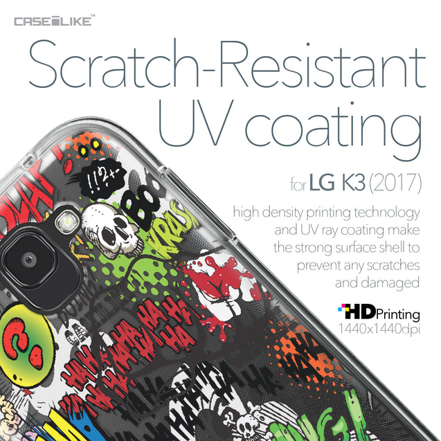 LG K3 2017 case Comic Captions 2914 with UV-Coating Scratch-Resistant Case | CASEiLIKE.com