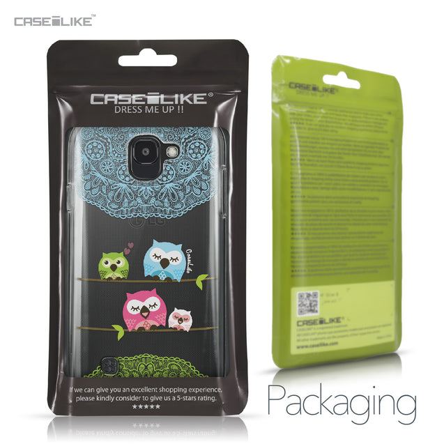 LG K3 2017 case Owl Graphic Design 3318 Retail Packaging | CASEiLIKE.com