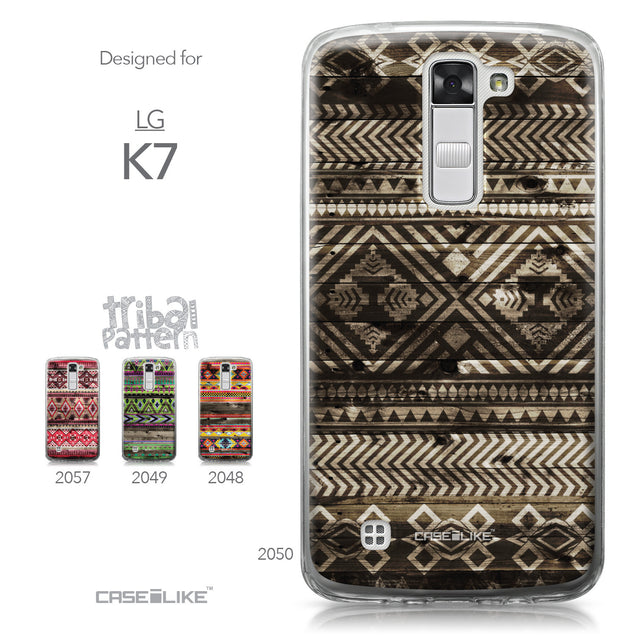 LG K7 case Indian Tribal Theme Pattern 2050 Collection | CASEiLIKE.com