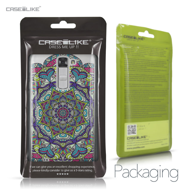 LG K7 case Mandala Art 2094 Retail Packaging | CASEiLIKE.com