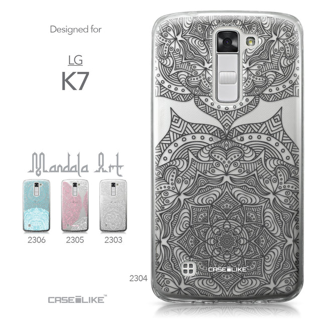 LG K7 case Mandala Art 2304 Collection | CASEiLIKE.com