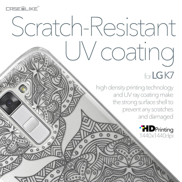 LG K7 case Mandala Art 2304 with UV-Coating Scratch-Resistant Case | CASEiLIKE.com