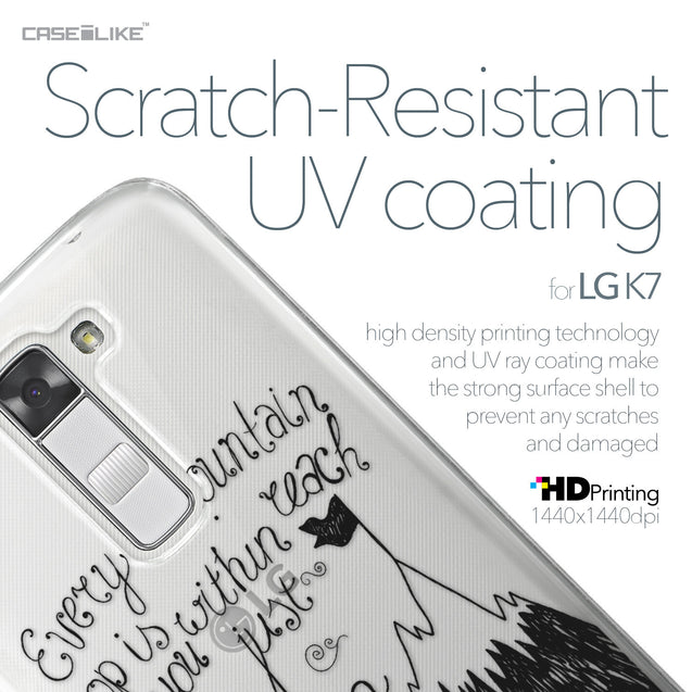 LG K7 case Quote 2403 with UV-Coating Scratch-Resistant Case | CASEiLIKE.com
