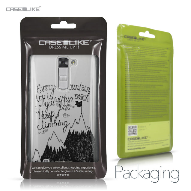 LG K7 case Quote 2403 Retail Packaging | CASEiLIKE.com