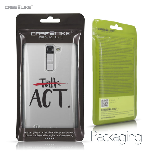 LG K7 case Quote 2408 Retail Packaging | CASEiLIKE.com