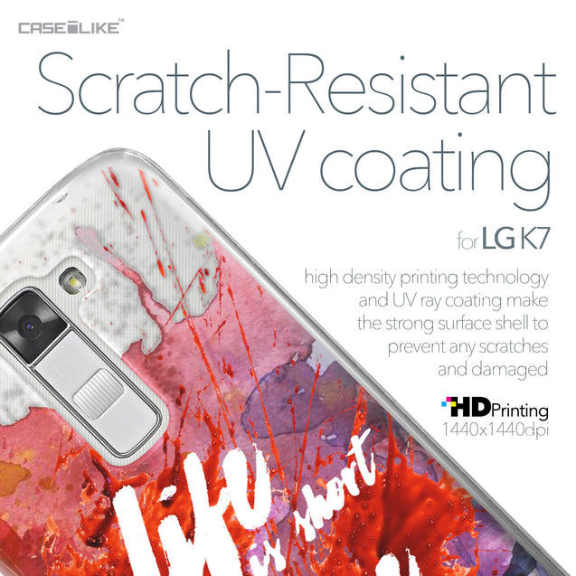LG K7 case Quote 2423 with UV-Coating Scratch-Resistant Case | CASEiLIKE.com