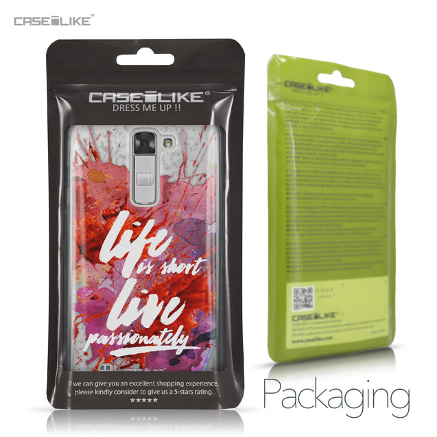 LG K7 case Quote 2423 Retail Packaging | CASEiLIKE.com