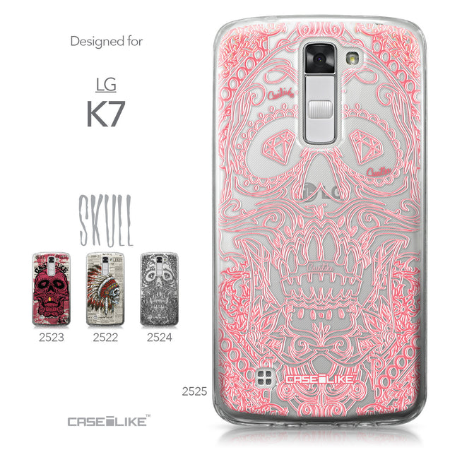 LG K7 case Art of Skull 2525 Collection | CASEiLIKE.com
