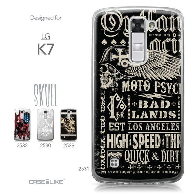 LG K7 case Art of Skull 2531 Collection | CASEiLIKE.com
