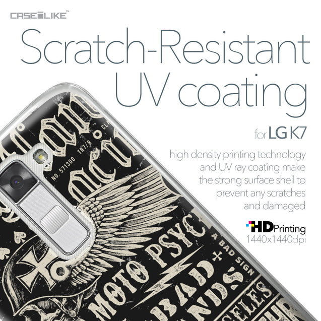 LG K7 case Art of Skull 2531 with UV-Coating Scratch-Resistant Case | CASEiLIKE.com