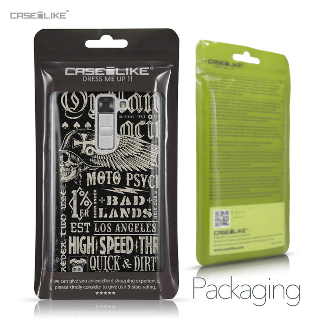 LG K7 case Art of Skull 2531 Retail Packaging | CASEiLIKE.com