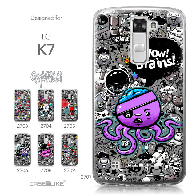 LG K7 case Graffiti 2707 Collection | CASEiLIKE.com