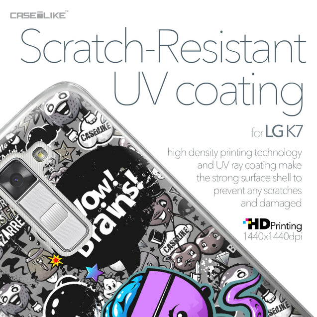 LG K7 case Graffiti 2707 with UV-Coating Scratch-Resistant Case | CASEiLIKE.com