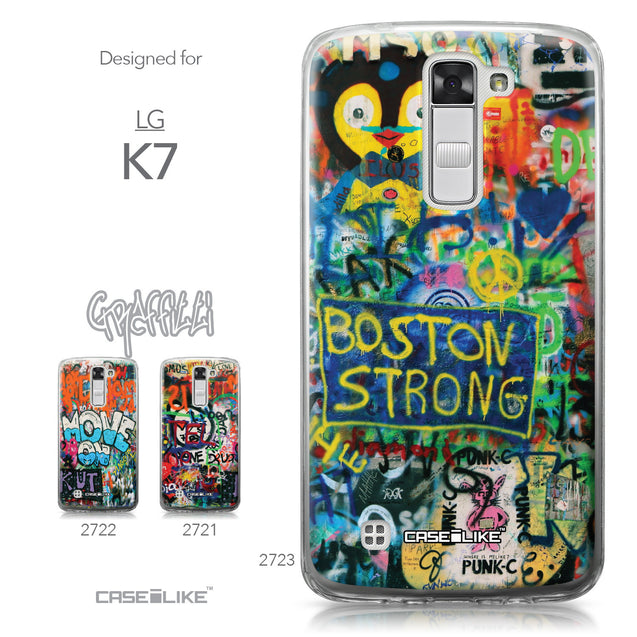 LG K7 case Graffiti 2723 Collection | CASEiLIKE.com