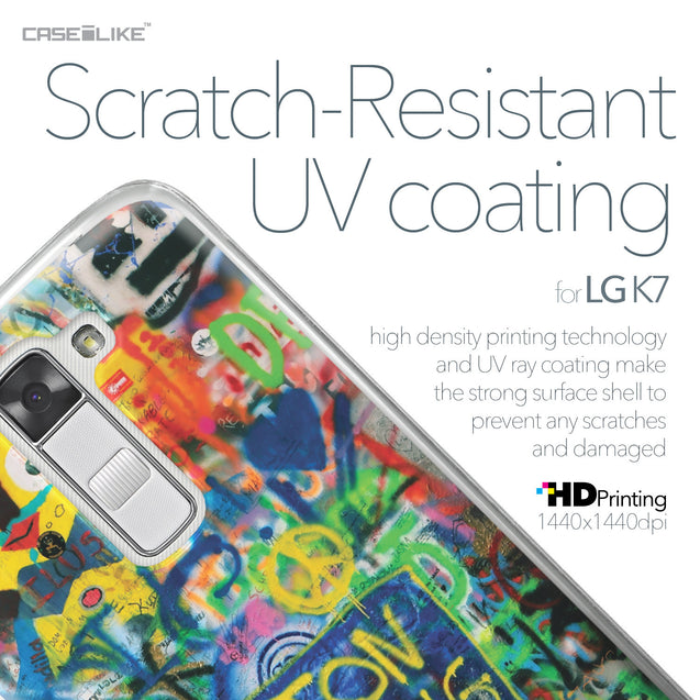 LG K7 case Graffiti 2723 with UV-Coating Scratch-Resistant Case | CASEiLIKE.com
