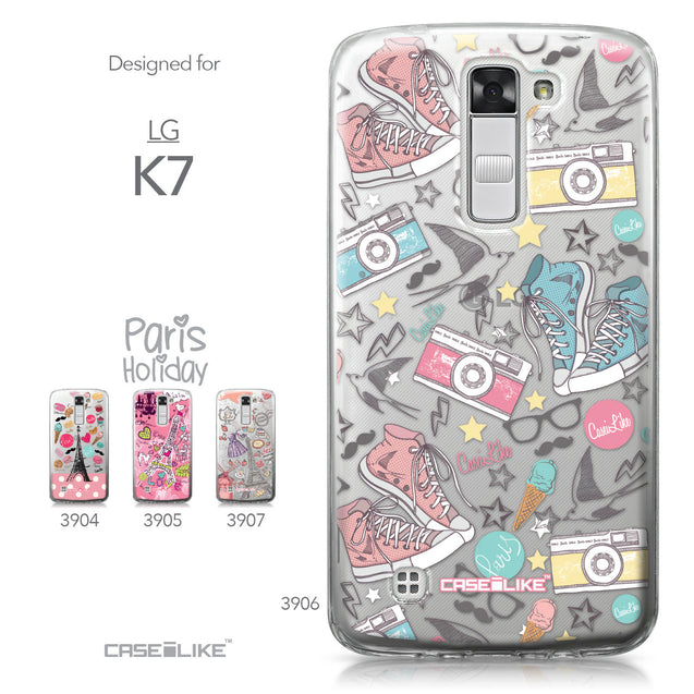 LG K7 case Paris Holiday 3906 Collection | CASEiLIKE.com