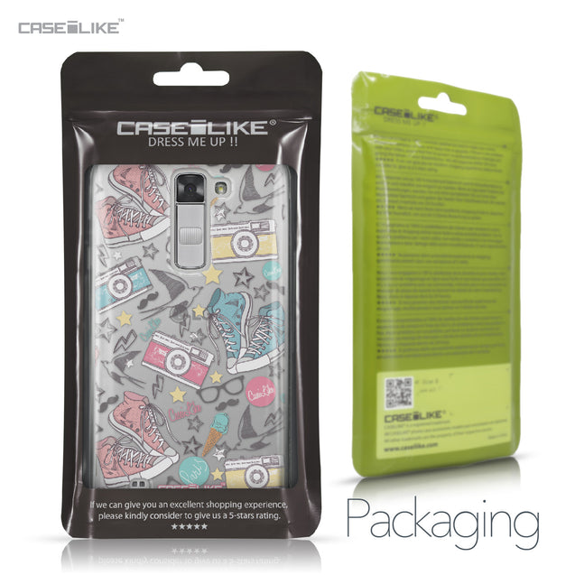 LG K7 case Paris Holiday 3906 Retail Packaging | CASEiLIKE.com