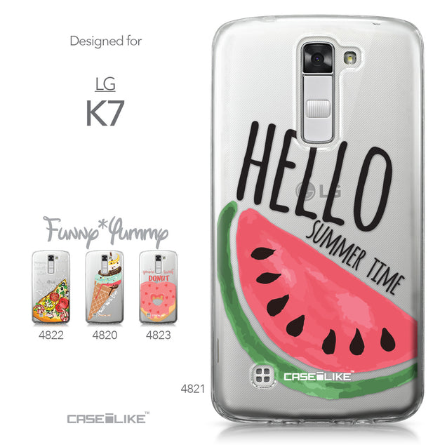 LG K7 case Water Melon 4821 Collection | CASEiLIKE.com