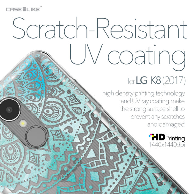 LG K8 2017 case Indian Line Art 2066 with UV-Coating Scratch-Resistant Case | CASEiLIKE.com