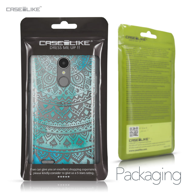 LG K8 2017 case Indian Line Art 2066 Retail Packaging | CASEiLIKE.com