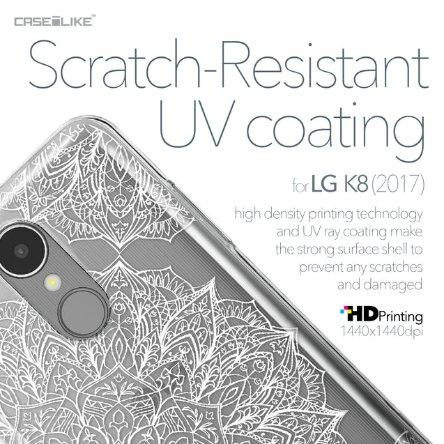 LG K8 2017 case Mandala Art 2091 with UV-Coating Scratch-Resistant Case | CASEiLIKE.com