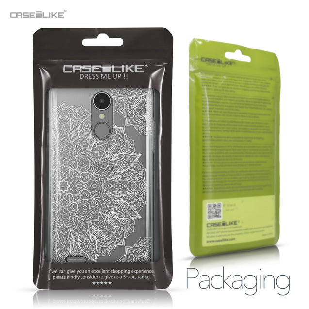 LG K8 2017 case Mandala Art 2091 Retail Packaging | CASEiLIKE.com