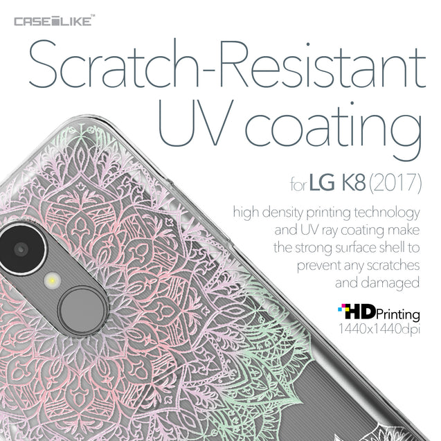 LG K8 2017 case Mandala Art 2092 with UV-Coating Scratch-Resistant Case | CASEiLIKE.com