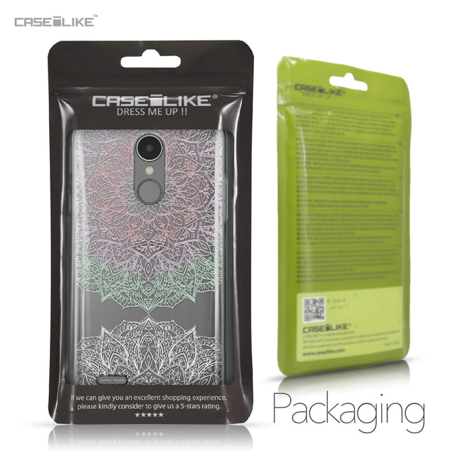 LG K8 2017 case Mandala Art 2092 Retail Packaging | CASEiLIKE.com