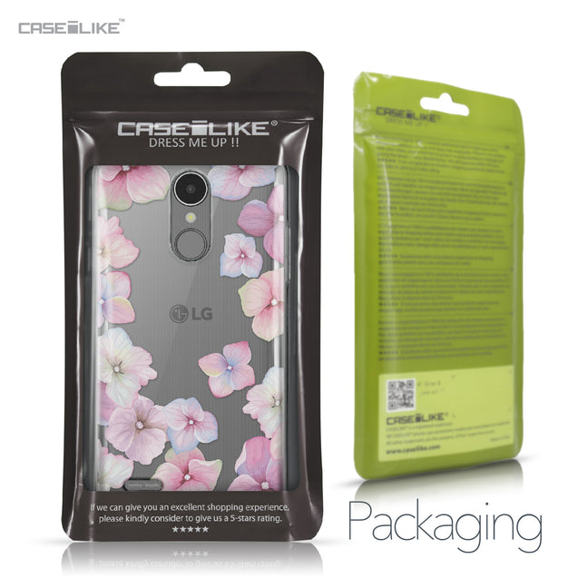 LG K8 2017 case Hydrangea 2257 Retail Packaging | CASEiLIKE.com