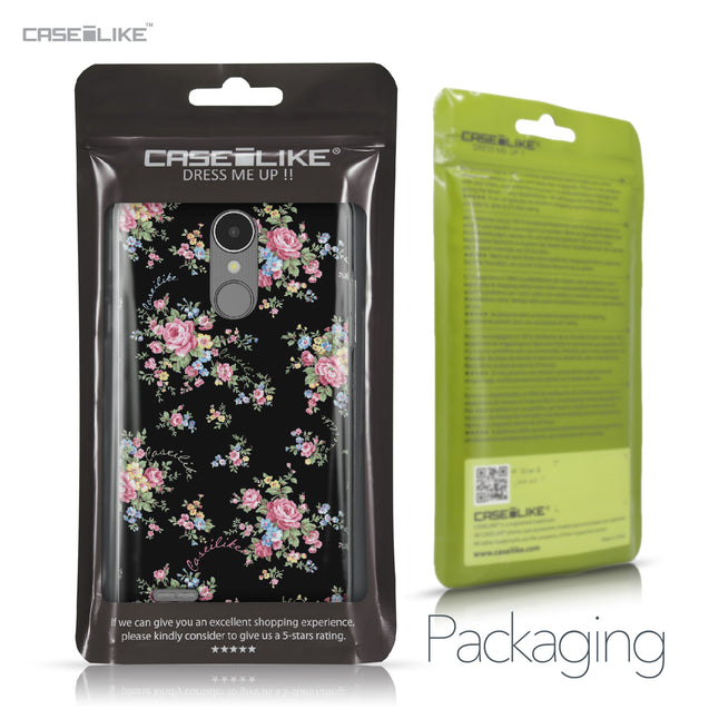 LG K8 2017 case Floral Rose Classic 2261 Retail Packaging | CASEiLIKE.com