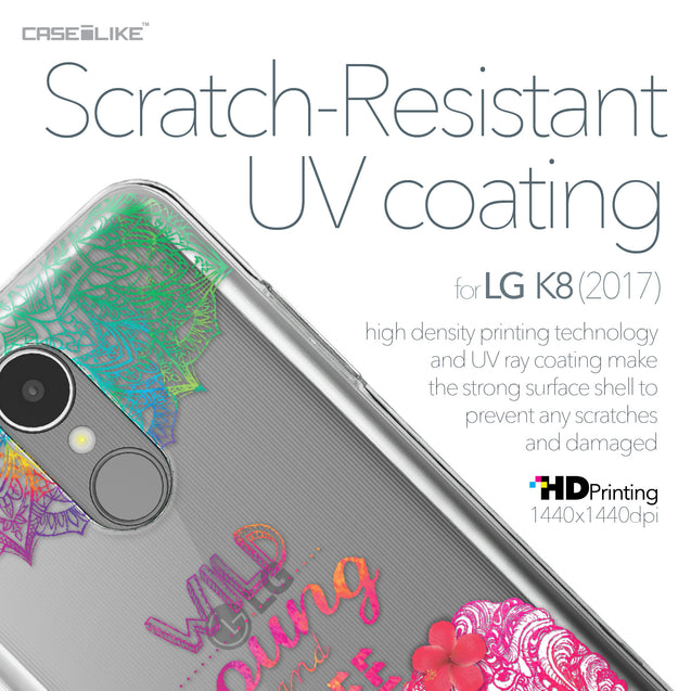 LG K8 2017 case Mandala Art 2302 with UV-Coating Scratch-Resistant Case | CASEiLIKE.com