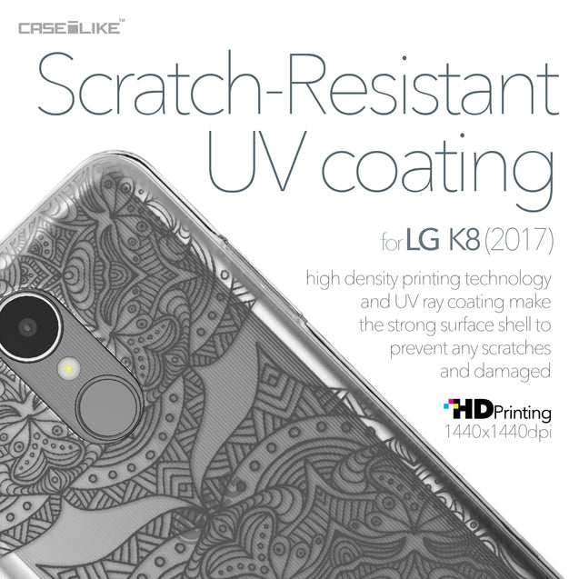 LG K8 2017 case Mandala Art 2304 with UV-Coating Scratch-Resistant Case | CASEiLIKE.com